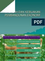 EKO. PEMB - Masalah Dan Kebijakan Pembangunan