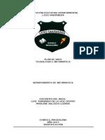 Plan de Área de Informática 2013
