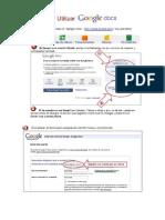 Google Docs Cuenta