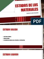 Estados de Los Materiales