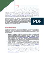 Downstream Processing