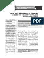 Pasos para implementar el Gobierno Electrónico en una Municipalidad