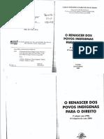 (03.11) O Renascer Dos Povos Indígenas Para o Direito - Carlos Frederico Marés de Souza Filho