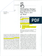 3. Wee, C. H. (1995). Managing Change. Perspectives From Sun Tzu's Art of War[1]
