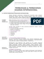 Sistem Pembiayaan & Pembayaran Pemasaran Internasional