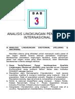Analisis Lingkungan Pemasaran Internasional