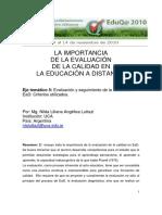 5 15 LUTTAZI Nilda Liliana Angelica -La Importancia de La Evaluacion en La Educacion a Distancia