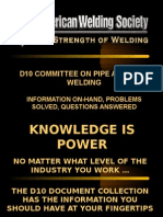 AWS D10.4,10.6,10.7,10.8,10.10,10.11,10.12,10.13 committee Recommended practices for welding  PPT