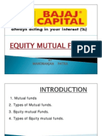 Equity Mutual Funds Ppt