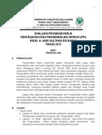 Evaluasi Program Kerja Ppi 2015