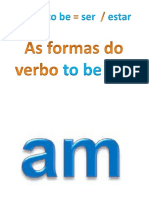 7º Ano  Verbo to be