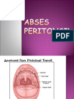 130700762 Abses Peritonsiler Ppt
