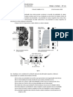 BioGeo10 Ficha de Trabalho 12-Gravimetria