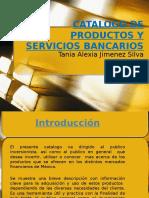 Catalogo de Productos y Servicios Bancarios 5to