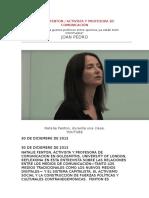 NATALIE FENTON Internet Crea Guetos Políticos Entre Quienes Ya Están Bien Informados