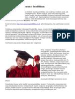 Tips Menyeleksi Asuransi Pendidikan