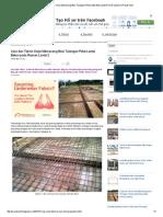 Cara Dan Teknis Kerja Memasang Besi Tulangan Pelat Lantai Beton Pada Rumah Lantai 2 _ Proyek Sipil
