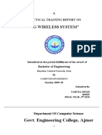 4G Wireless System Report
