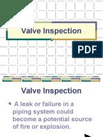 Valve Inspection PEW 101