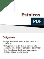 Estoicos