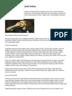 Tips Unggul untuk Judi Online