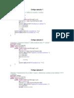 codigos Java ejemplos