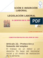 Tema 3. El Despido en El Peru (1)