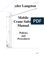 Crane Safety Manual