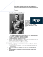 russian revolution outline