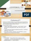 Kolesterol Dan Diet