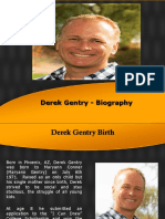 Derek Gentry - Biography