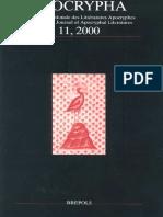 Apocrypha 11, 2000