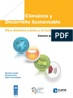 Cambio Climatico y Desarrollo Sustentable
