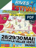 livret programme 10ème festival théâtre