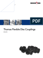 2000 Thomas Flexible Disc Couplings Catalog