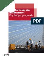 2016 PWC Key Budget Proposals