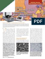 Revealing Prior-Austenite Grain Boundaries in Heat-Treated Steels