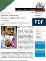 El Dipló _ Elecciones, Crisis y Decepción