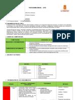 Programa Anual 4to CIENCIA Y AMBIENTE