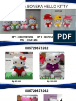 085729878262, Jual Boneka Hello Kitty, Boneka Hello Kitty Besar, Boneka Hello Kitty Wisuda