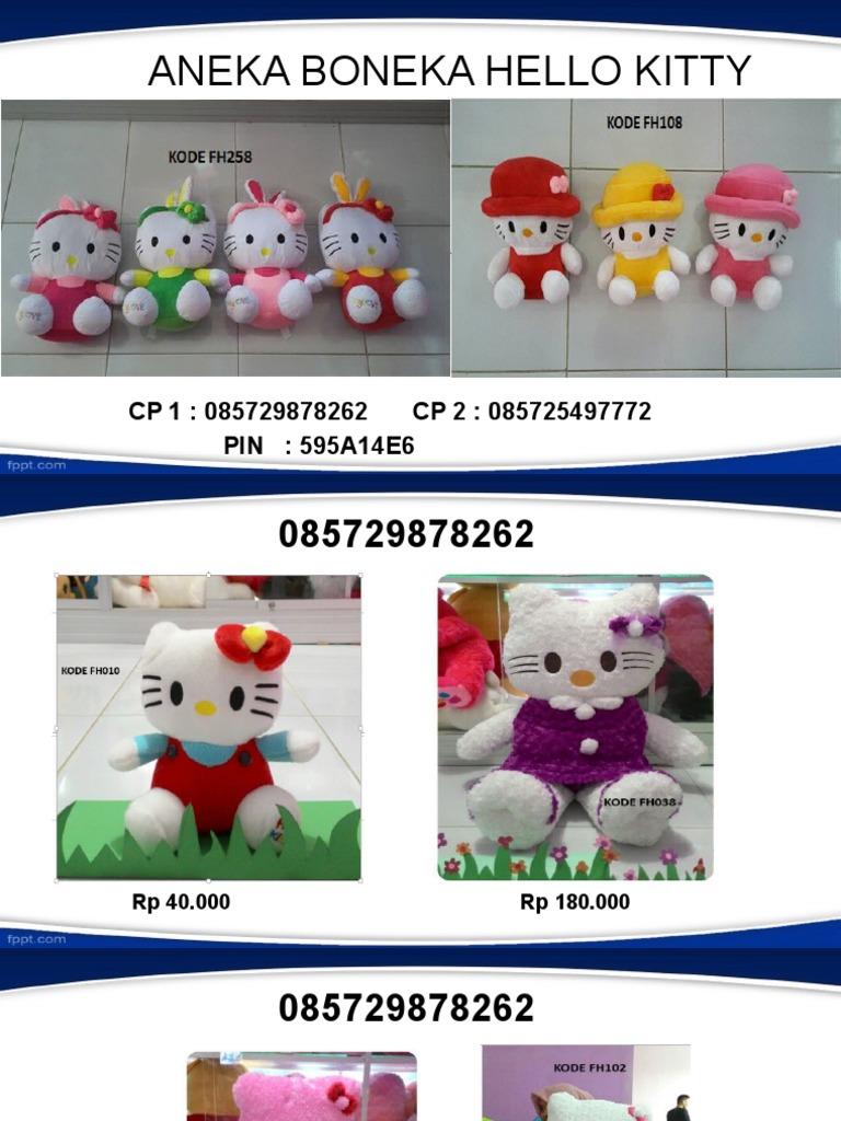 085729878262 Jual Boneka Hello Kitty Besar 1 Wisuda