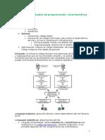 04-Lenguajes Actuales de Programación. Características Técnicas