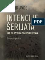 INTENCIJE ŠERIJATA KAO FILOZOFIJA ISLAMSKOG PRAVA (sistemski pristup)   -   Džasir Avde