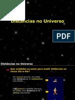 Físico-Química 7º ano- Distancias No Universo