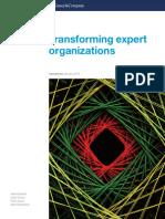 Transforming Expert Organizations Final