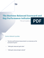 Business Balanced Scorecard BBS