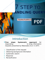 6.PIO Ttg Seven Step Handling Query