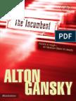 The Incumbent by Alton Gansky, Excerpt