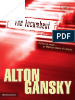The Incumbent by Alton Gansky, Excerpt