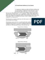 Spiral Guidelines for Valve Bonnets